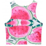 Pink Watermelons Damn Sleeveless T Shirt Cami Tank Top