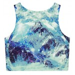Blue Ocean Iceberg DOD Sleeveless T Shirt Cami Tank Top