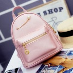 Pink Gold Giant Pearl Cute Mini Backpack Bag