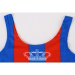 Blue Red Keep Calm and Herp Derp Sleeveless T Shirt Cami Tank Top