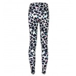 Colorful Leopard Wild Animal Print Yoga Fitness Leggings Tights Pants
