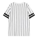 Black White Stripes Kidnap Comic Harajuku Funky Short Sleeves T Shirt Top
