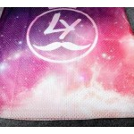 Purple Pink Universe Galaxy Net Sleeveless Mens T-shirt Vest Sports Tank Top