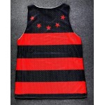 Red Black Stripes Stars Net Sleeveless Mens T-shirt Vest Sports Tank Top