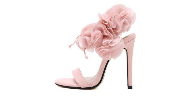 Pink black roses flowers floral high stiletto heels sandals evening pink black roses flowers floral high stiletto heels sandals evening gown bridal shoes mightylinksfo