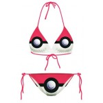 Pink Fushia Pokemon Cartoons Two Piece Sexy Bikini Swimwear