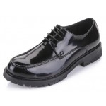 Black Patent Leather Lace Up Platforms Mens Oxfords Dress Shoes