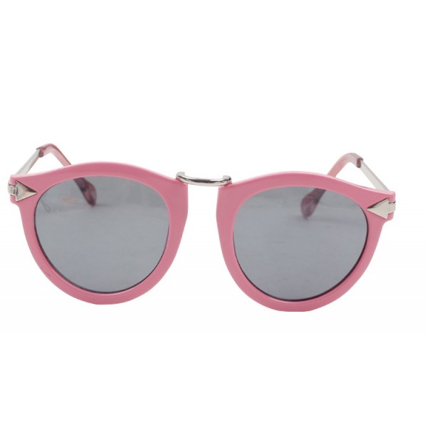 Pink Pilot Rider Aviator Polarized Lens Sunglasses