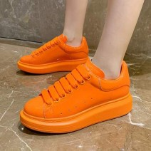Orange Rainbow Candy Chunky Womens Sneakers Shoes