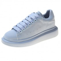 Blue Sky Rainbow Candy Chunky Womens Sneakers Shoes