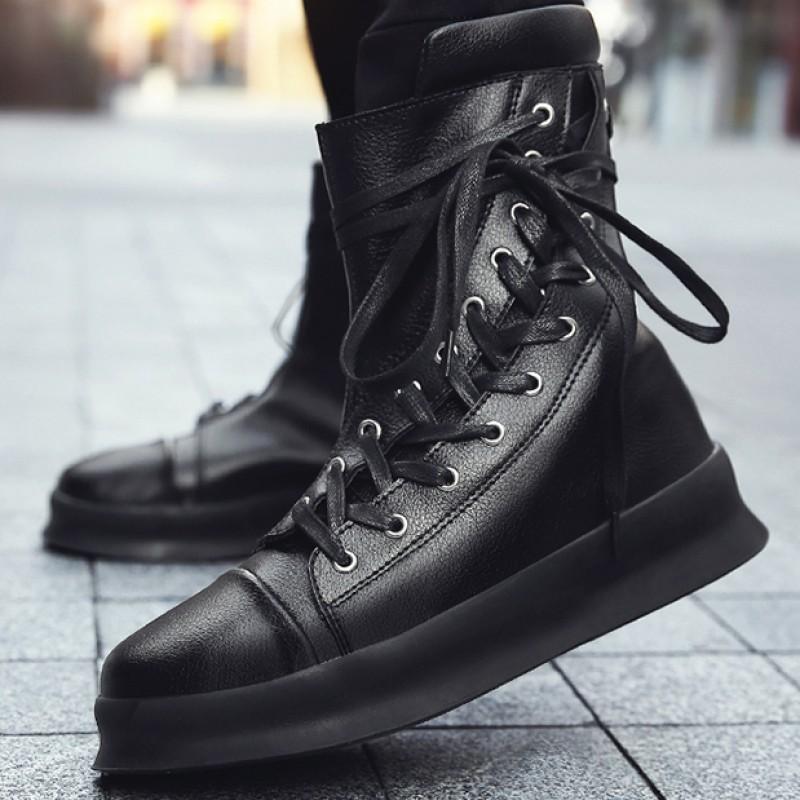 black high shoes