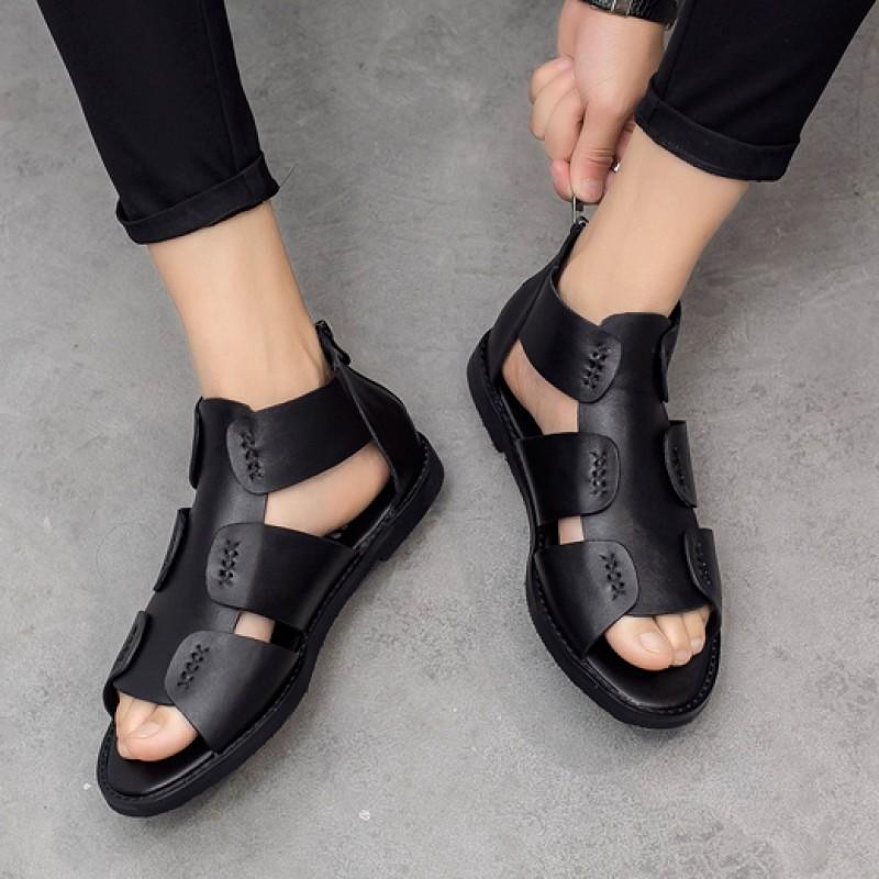 Top Fashion Mens Gladiator Roman Sandals