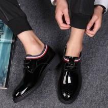 Black Patent Lace Up Glossy Patent Leather Loafers Flats Dress Oxfords Shoes