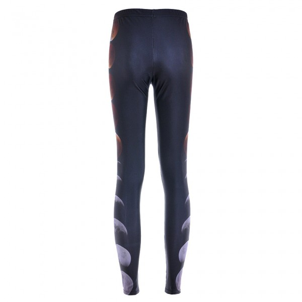 Black Moon Cyclc Yoga Fitness Leggings Tights Pants