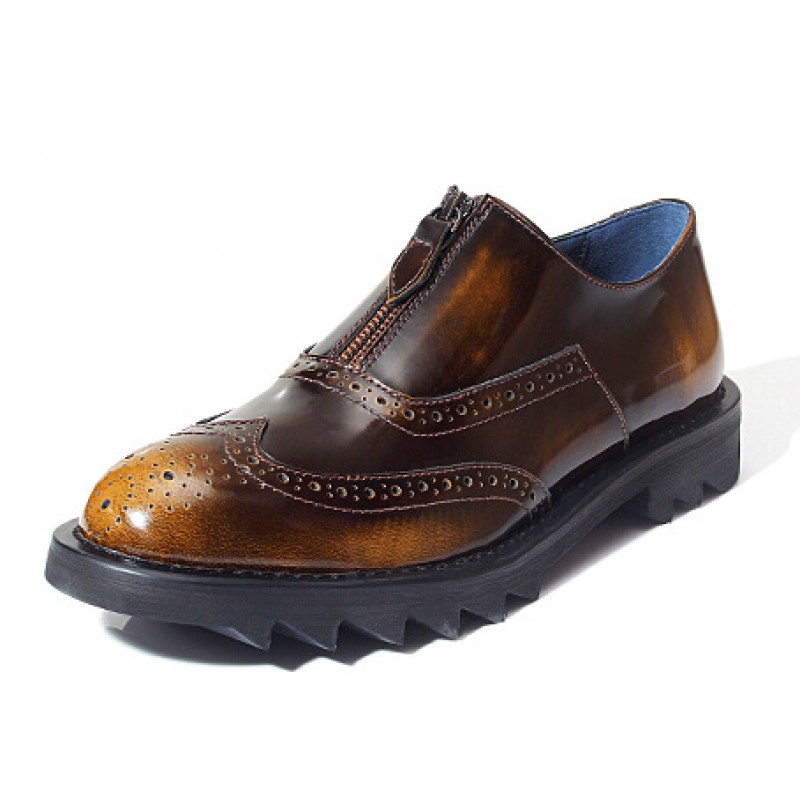 Mens Shoes Cleated Sole