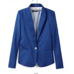 Long Sleeves Womens Boyfriend Blazer Suit Jacket Coat