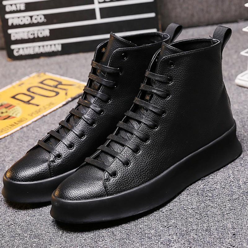 mens high top dress boots